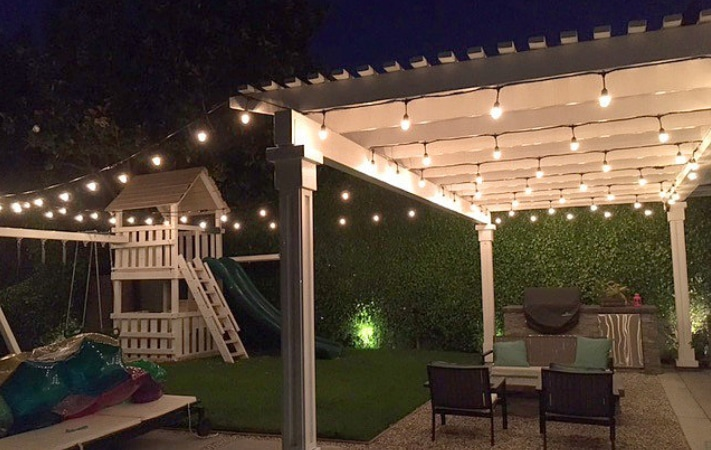 Patio And Bistro String Lights Light