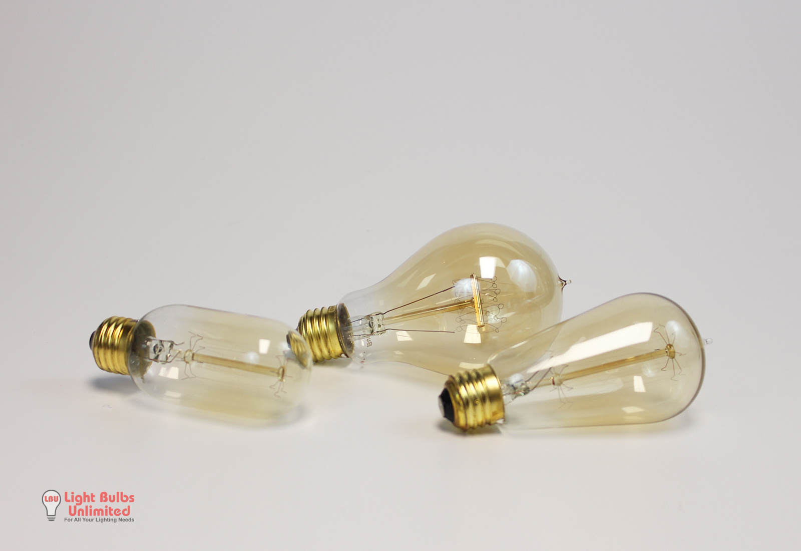 Vintage Light Bulbs In Products Unlimited